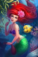 Ariel the little mermaid by LidTheSquid