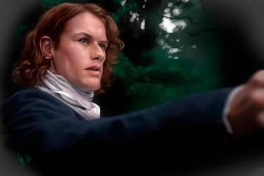 Outlander Jamie fraser by LidTheSquid