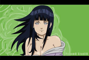 Hinata another wallpaper by Przemq-S