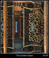 The Golden Gates by EricTonArts