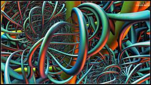 Helix Fibers by EricTonArts
