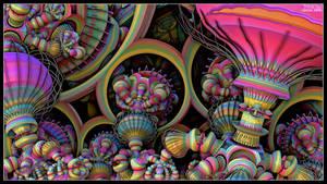 Bulbophyllum Psychedellius by EricTonArts