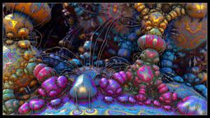 Dikarya Psychedelia by EricTonArts