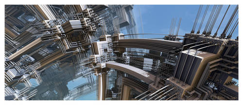 Structural Abstract II by EricTonArts