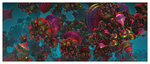 Psychedelic Carnival II by EricTonArts
