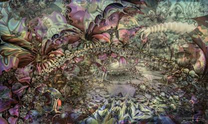 My Secret Garden by EricTonArts