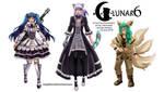 Lunar 6 Main Characters by NilaNandita