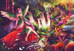 Com: Magical Forest by NilaNandita