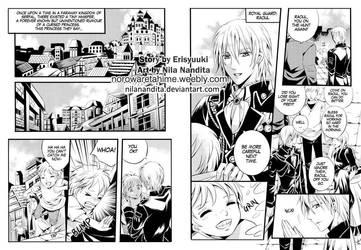 Norowareta Hime pg. 1-2 by NilaNandita