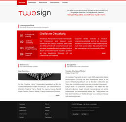 TWOsign - twosign.de by johannes-meyer