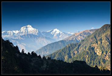 Annapurna South by didumdidum