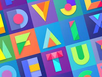 M Alphabet 2 by creatiVe5