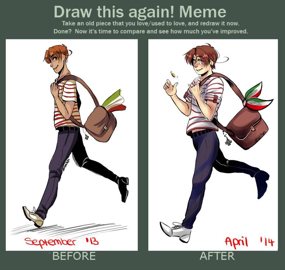 Draw This Again Meme By Amarilloh On Deviantart