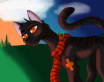 Sunset Along the Border   Speedpaint by Tranquil-Pond