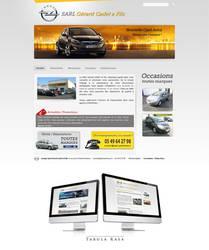 Opel Parthenay web site by TabulaRasaStudio