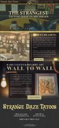 Tattoo Shop website by jansin