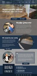 Concrete services website by jansin