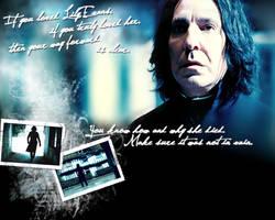 HP wallpaper Snape by wylie-schatz