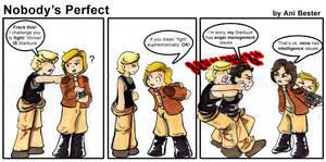 BSG Comic 1: Nobody's Perfect by GalacticDustBunnies