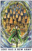 Loki Has a New Army by GalacticDustBunnies