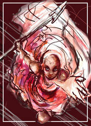 General Okoye by GalacticDustBunnies
