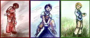 The A-Team as Children by GalacticDustBunnies