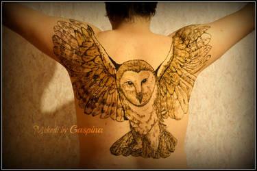 Filin, owl by Gaspina