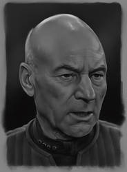 Captain Picard by CraigPaton