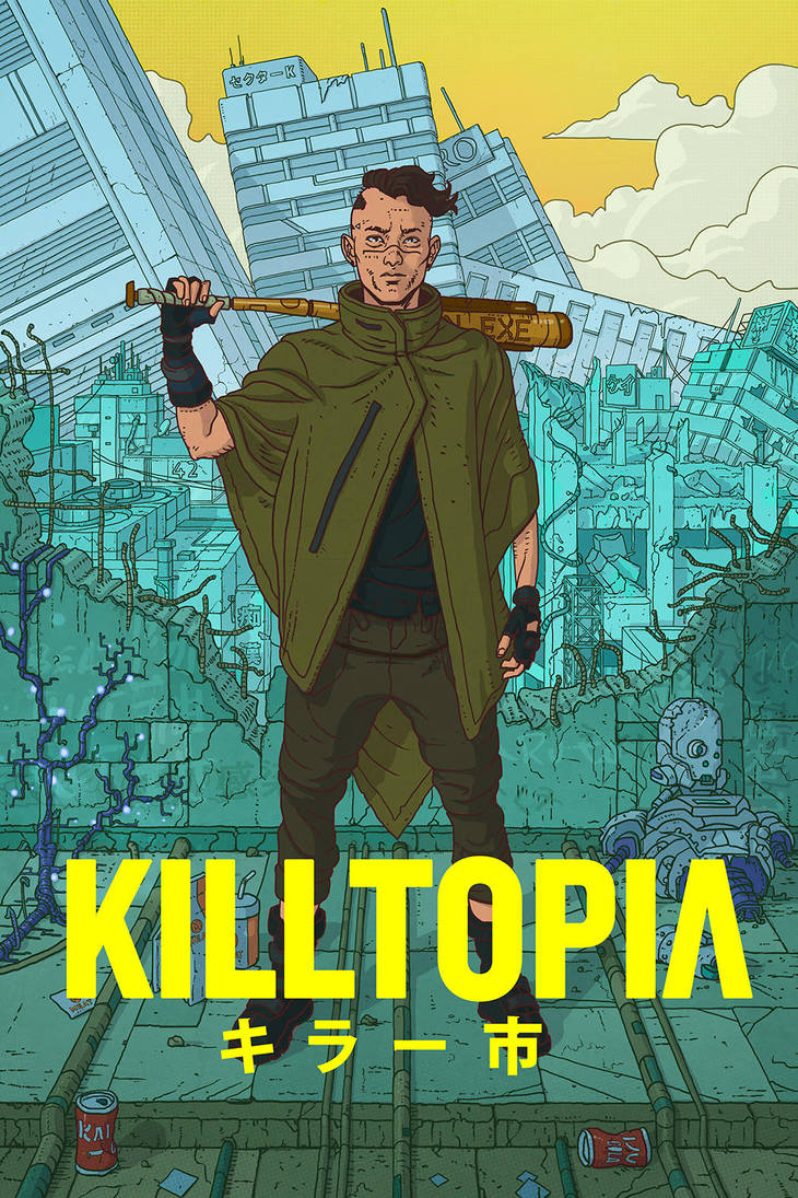 Killtopia: Shinji by CraigPaton
