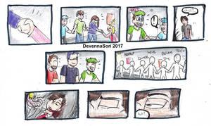 He's Here... Part 25 by DevennaSori