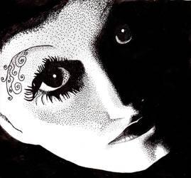 Eyes in the dark by missmagicgirl