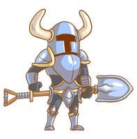 Shovel Knight by pkstarst0rm