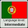 Portuguese language level INTERMEDIATE by TheFlagandAnthemGuy