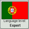 Portuguese language level EXPERT by TheFlagandAnthemGuy