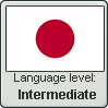 Japanese language level INTERMEDIATE by TheFlagandAnthemGuy