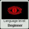 Black Speech language level Beginner by TheFlagandAnthemGuy