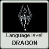 Dovahzul language level DRAGON by TheFlagandAnthemGuy