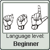 American Sign Language level BEGINNER by TheFlagandAnthemGuy
