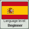 Spanish language level BEGINNER by TheFlagandAnthemGuy