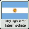 Argentinian Spanish language level INTERMEDIATE by TheFlagandAnthemGuy