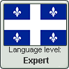 Quebec French language level EXPERT by TheFlagandAnthemGuy