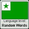 Esperanto language level RANDOM WORDS by TheFlagandAnthemGuy