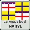 Emilian language level NATIVE by TheFlagandAnthemGuy