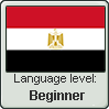 Egyptian Arabic language level BEGINNER by TheFlagandAnthemGuy