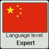 Chinese language level EXPERT by TheFlagandAnthemGuy