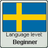Swedish language level BEGINNER by TheFlagandAnthemGuy