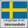 Swedish language level INTERMEDIATE by TheFlagandAnthemGuy