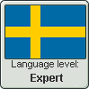 Swedish language level EXPERT by TheFlagandAnthemGuy