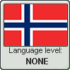Norwegian language level NONE by TheFlagandAnthemGuy
