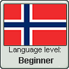 Norwegian language level BEGINNER by TheFlagandAnthemGuy